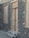 Olde room in saudi arabia castle Royalty Free Stock Image