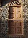 Olde window room in saudi arabia castle Royalty Free Stock Photography