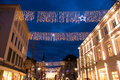 Oldenburg at christmas Royalty Free Stock Photo