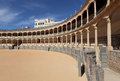 Oldest Bullring of Spain in Ronda Stock Photo