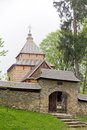 The oldest eastern orthodox church architecture in poland in radruz from th century Stock Photos
