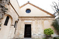 Oldest greek catholic parish church saint julien le pauvre in paris Royalty Free Stock Photography