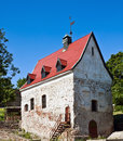 Oldest house in Vyborg Royalty Free Stock Photography