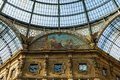 Oldest and most beautiful shopping mall galleria vittorio emanuele ii is the world s in milan italy Stock Images