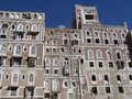 Oldtown Houses - Sanaa, Yemen Royalty Free Stock Photography