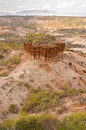Olduvai gorge the beginning of mankind tanzania africa Stock Photo
