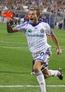 Oleg Gusev of Dynamo Kyiv Royalty Free Stock Photography