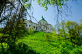 The olesko castle the first historical records of the castle are in a document dated when pope boniface ix gave halych a catholic Royalty Free Stock Photography