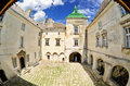 Olesko castle the the first historical records of the are in a document dated when pope boniface ix gave halych a catholic Royalty Free Stock Photos