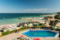 Olimp Holiday Resort High View Royalty Free Stock Photo