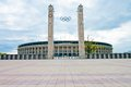 Olimpia stadium Royalty Free Stock Photo
