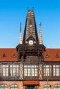 Olimpia tower, Brasov, Romania Royalty Free Stock Photo