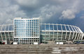 Olimpiyskiy National Sports Complex,Kiev,Ukraine Royalty Free Stock Images