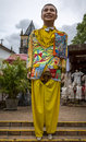Olinda s carnival costume one of the famous giant doll costumes of festival in pernambuco brasil Royalty Free Stock Photo