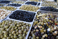 Olive assortment Royalty Free Stock Photography