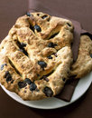 Olive Fougasse Royalty Free Stock Image