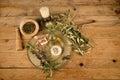 Olive oil based body care natural moisturizing lotion on Stock Image