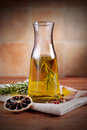 Olive oil flavored Royalty Free Stock Photos