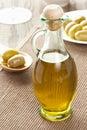 Olive oil hecha en casa tradicional Fotos de archivo