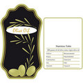 Olive Oil / Label Royalty Free Stock Images