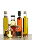 Olive Oil,Salad Dressing And Vinegar Royalty Free Stock Photo