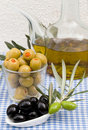 Olive products Royalty Free Stock Photos