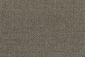 Olive textile background with checkered pattern, closeup. Structure of the fabric macro. Royalty Free Stock Photo
