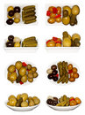 Olives Collage Royalty Free Stock Photos