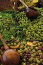 Olives at a French market Royalty Free Stock Photo