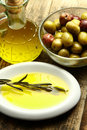 Olives oil Royalty Free Stock Image