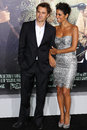 Olivier Martinez and Halle Berry Stock Photo