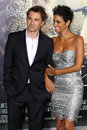 Olivier Martinez and Halle Berry Stock Photos
