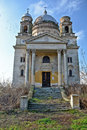 Olld church romania bobda abandoned and destroyed a catholic in the village of bond in Royalty Free Stock Photos
