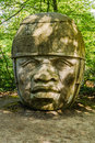 Olmec Head No 8 Royalty Free Stock Photo