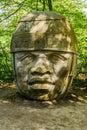 Olmec Head No 8 Royalty Free Stock Photo