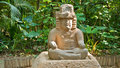 Olmec sculpture Royalty Free Stock Photo