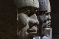 Olmec stone head Royalty Free Stock Photo
