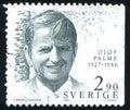 Olof Palme Royalty Free Stock Photo