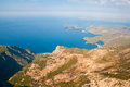 Oludeniz view from parachute fethiye turkey Royalty Free Stock Images
