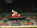 Olympic champion Aly Raisman of United States competes on the balance beam at women`s all-around gymnastics at Rio 2016 Olympics