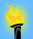 Olympic flame Royalty Free Stock Image