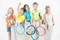 Olympic Games. Rio de Janeiro 2016 Brazil. Royalty Free Stock Photo