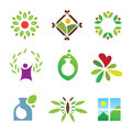 Olympic green success nature leaf landscape healthy care logo icon