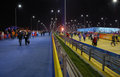 Olympic park at xxii winter olympic games sochi russia Royalty Free Stock Images