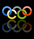 Olympic Rings [02] Royalty Free Stock Photography