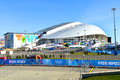 Olympic stadium Fisht  in Sochi, Russia Stock Image