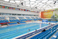 Olympic Swimming Pool Royalty Free Stock Photography