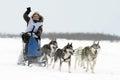 Olympics northern aboriginals. Russia. Yamal. Nadym. Royalty Free Stock Photo