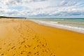 Omaha Beach Royalty Free Stock Photos