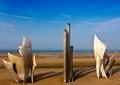 Omaha Beach Royalty Free Stock Photo